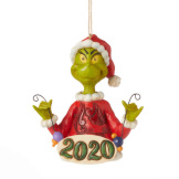 2020 Grinch Dated Ornament
